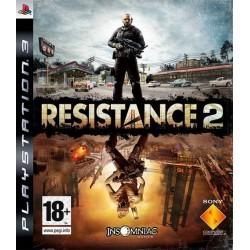 PS3 RESISTANCE 2 - Jeux PS3 au prix de 3,95€