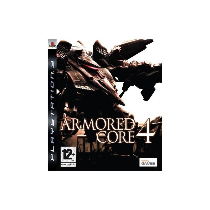 PS3 ARMORED CORE 4 - Jeux PS3 au prix de 9,95€