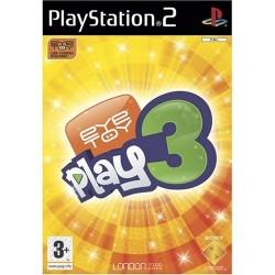 PS2 EYE TOY PLAY 3 - Jeux PS2 au prix de 2,95€