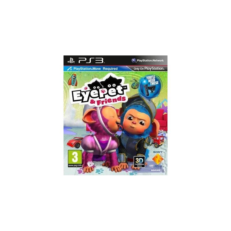 PS3 EYEPET ET FRIENDS - Jeux PS3 au prix de 2,95€