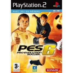 PS2 PRO EVOLUTION SOCCER 6 - Jeux PS2 au prix de 1,95€