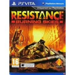 PSV RESISTANCE BURNING SKIES - Jeux PS Vita au prix de 14,95€