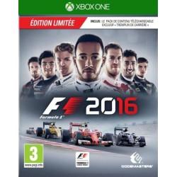 XONE F1 2016 OCC - Jeux Xbox One au prix de 6,95€