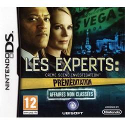 DS LES EXPERTS PREMEDITATION - Jeux DS au prix de 8,45€