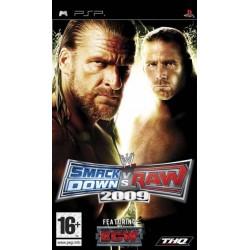 PSP WWE SMACKDOWN VS RAW 2009 - Jeux PSP au prix de 4,95€