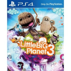 PS4 LITTLE BIG PLANET 3 OCC - Jeux PS4 au prix de 19,95 €