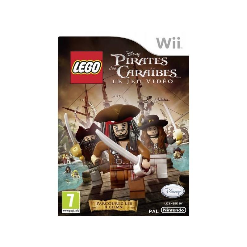 WII LEGO PIRATES DES CARAIBES - Jeux Wii au prix de 12,95€