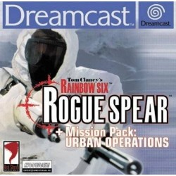 DC RAINBOW SIX ROGUE SPEAR MISSION PACK URBAN OPERATIONS - Jeux Dreamcast au prix de 12,95 €