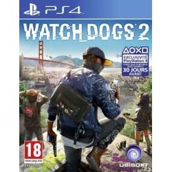 PS4 WATCH DOGS 2 OCC - Jeux PS4 au prix de 14,95€