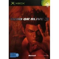 XB DEAD OR ALIVE 3 - Jeux Xbox au prix de 2,95€