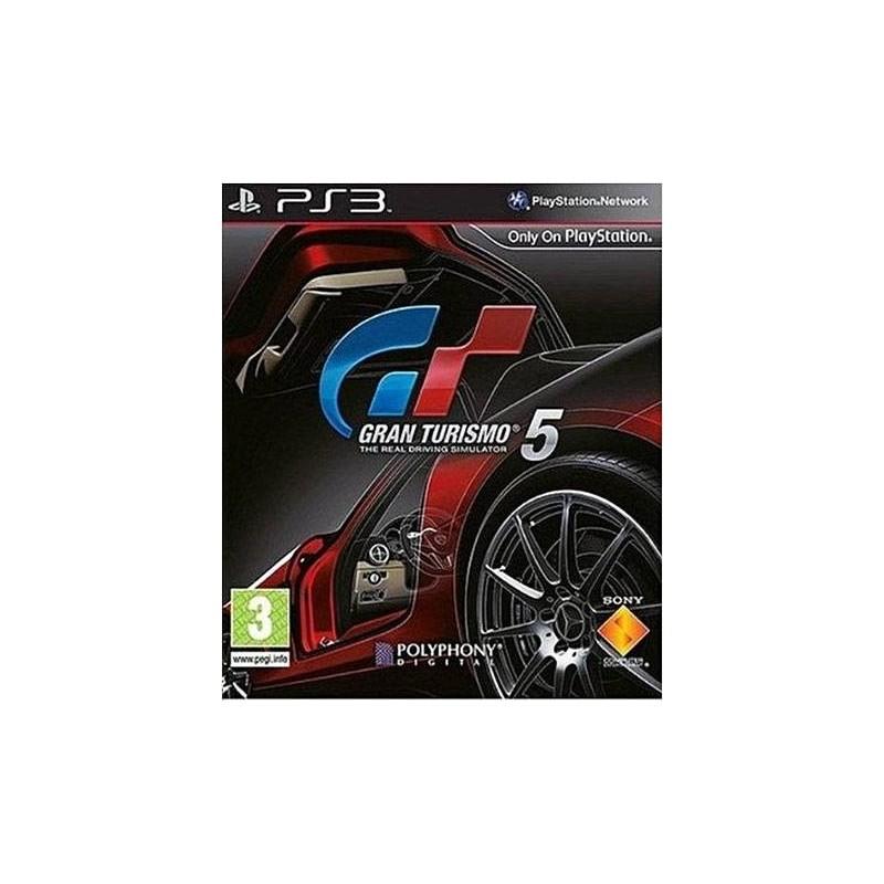 PS3 GRAN TURISMO 5 - Jeux PS3 au prix de 3,95€