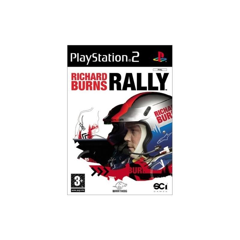 PS2 RICHARD BURNS RALLY - Jeux PS2 au prix de 4,95€
