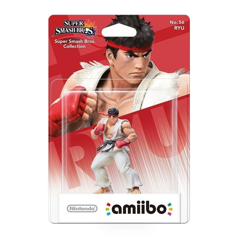AMIIBO SUPER SMASH BROS 56 RYU - Figurines NFC au prix de 14,95€