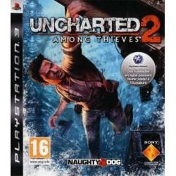 PS3 UNCHARTED 2 AMONG THIEVES - Jeux PS3 au prix de 4,95€