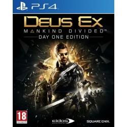 PS4 DEUS EX MANKIND DIVIDED OCC - Jeux PS4 au prix de 6,95€
