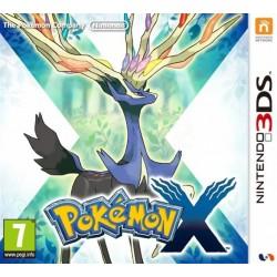 3DS POKEMON X - Jeux 3DS au prix de 19,95€