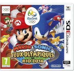 3DS MARIO ET SONIC AUX JEUX OLYMPIQUES DE RIO 2016 - Jeux 3DS au prix de 14,95€
