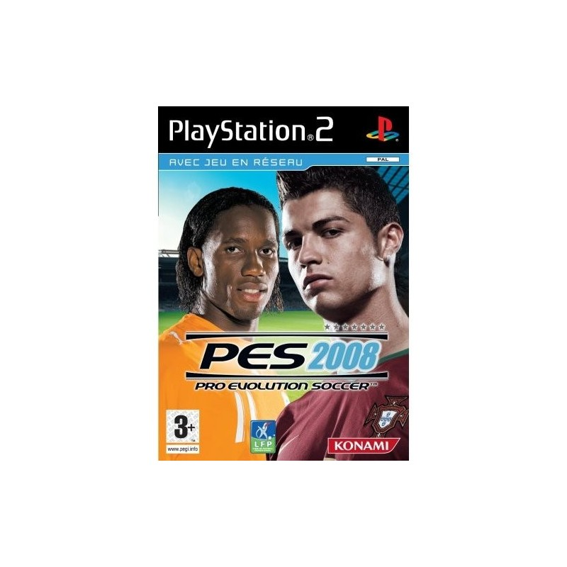 PS2 PRO EVOLUTION SOCCER 2008 - Jeux PS2 au prix de 1,95€