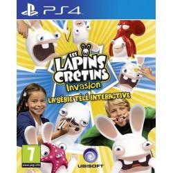 PS4 LES LAPINS CRETINS INVASION OCC - Jeux PS4 au prix de 9,95€