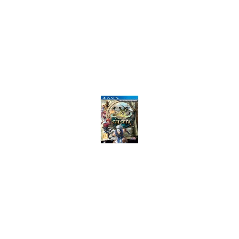 PSV YS MEMORIES OF CELCETA - Jeux PS Vita au prix de 19,95€