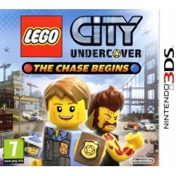 3DS LEGO CITY UNDERCOVER THE CHASE BEGINS - Jeux 3DS au prix de 14,95€