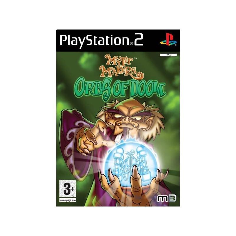 PS2 MYTH MAKERS ORBS OF DOOM - Jeux PS2 au prix de 3,95€