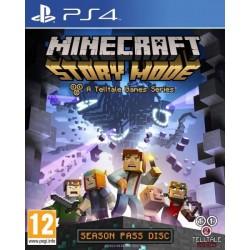 PS4 MINECRAFT STORY MODE A TELLTALE GAME SERIES OCC - Jeux PS4 au prix de 19,95€