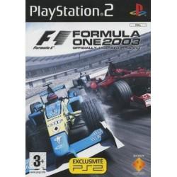 PS2 FORMULA 1 2003 - Jeux PS2 au prix de 2,95€