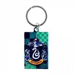 PORTE CLES HARRY POTTER ECUSSON SERPENTARD METAL - Porte Clés au prix de 6,95 €