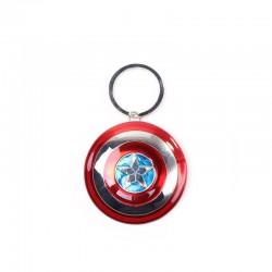 PORTE CLES MARVEL CAPTAIN AMERICA METAL SHIELD 3D - Porte Clés au prix de 9,95€