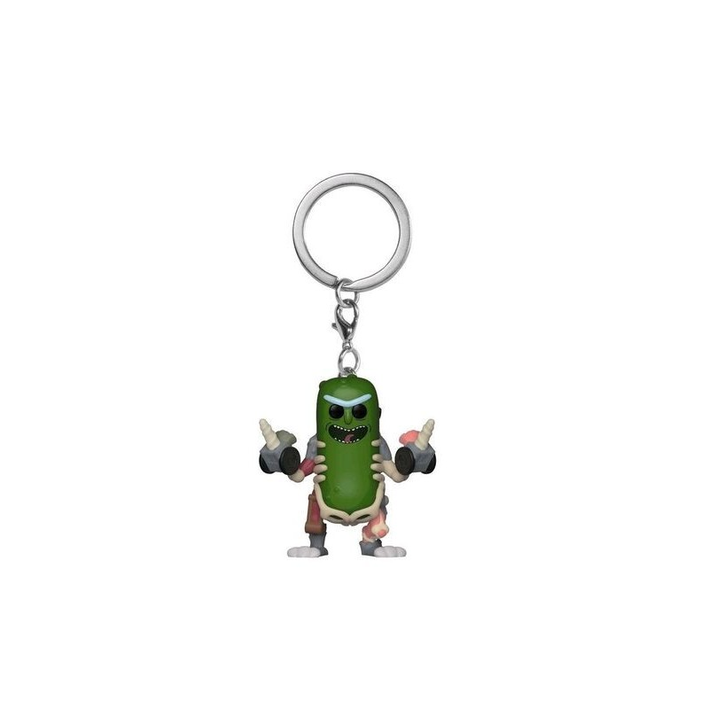 PORTE CLES POCKET POP RICK ET MORTY PICKLE RICK RAT SUITE - Porte Clés au prix de 7,95 €