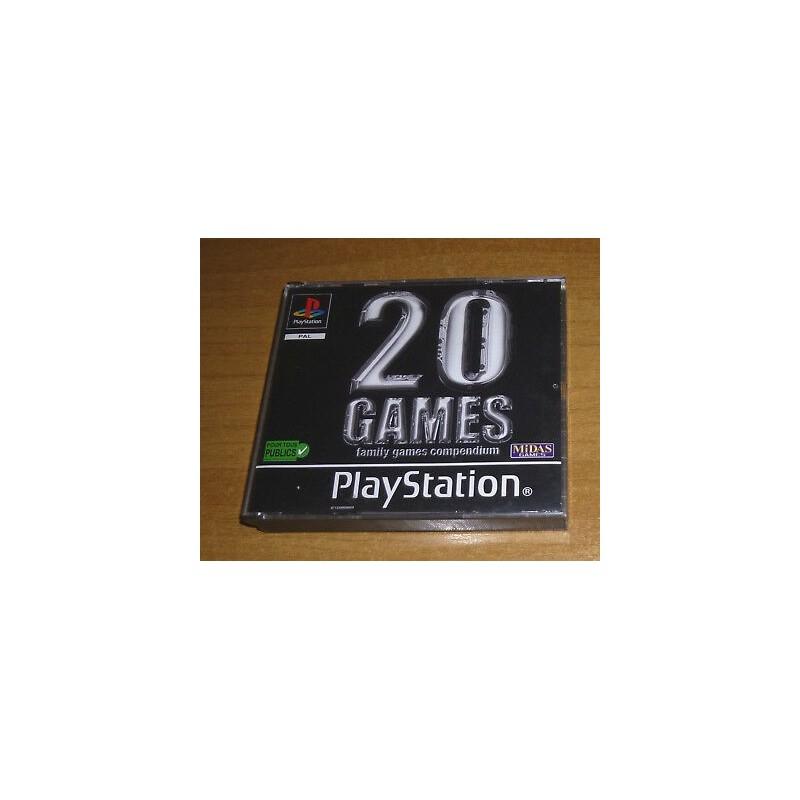 PSX 20 GAMES COMPENDIUM - Jeux PS1 au prix de 4,95€