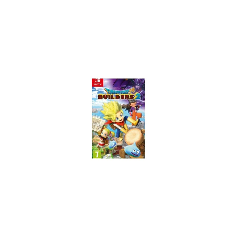 SWITCH DRAGON QUEST BUILDERS 2 B - Jeux Switch au prix de 49,95 €