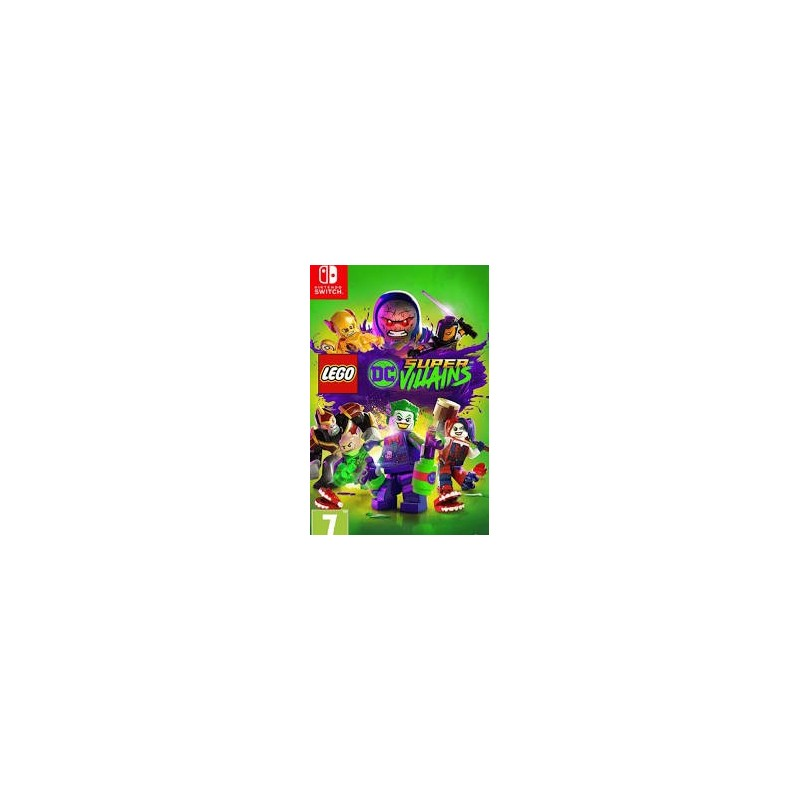 SWITCH LEGO DC SUPER VILAINS - Jeux Switch au prix de 34,95 €