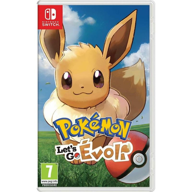 SWITCH POKEMON LETS GO EVOLI - Jeux Switch au prix de 49,95€