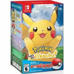 SWITCH POKEMON LETS GO PIKACHU ET POKEBALL PLUS EN BOITE OCC - Jeux Switch au prix de 49,95 €