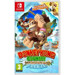 SWITCH DONKEY KONG COUNTRY TROPICAL FREEZE - Jeux Switch au prix de 54,95 €