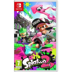 SWITCH SPLATOON 2 - Jeux Switch au prix de 54,95 €