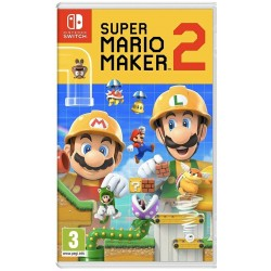SWITCH SUPER MARIO MAKER 2 - Jeux Switch au prix de 59,95 €