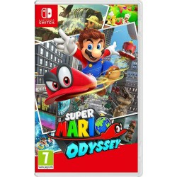 SWITCH SUPER MARIO ODYSSEY - Jeux Switch au prix de 54,95 €