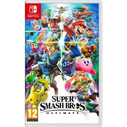 SWITCH SUPER SMASH BROS ULTIMATE - Jeux Switch au prix de 59,95 €