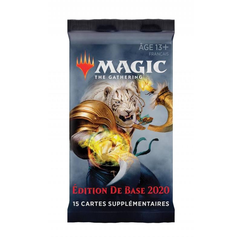 BOOSTER MAGIC EDITION DE BASE 2020 - Cartes à collectionner ou jouer au prix de 3,50€