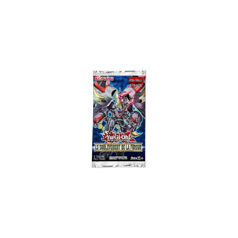 BOOSTER YU GI OH SOULEVEMENT DE LA FUREUR - Cartes à collectionner ou jouer au prix de 5,00€