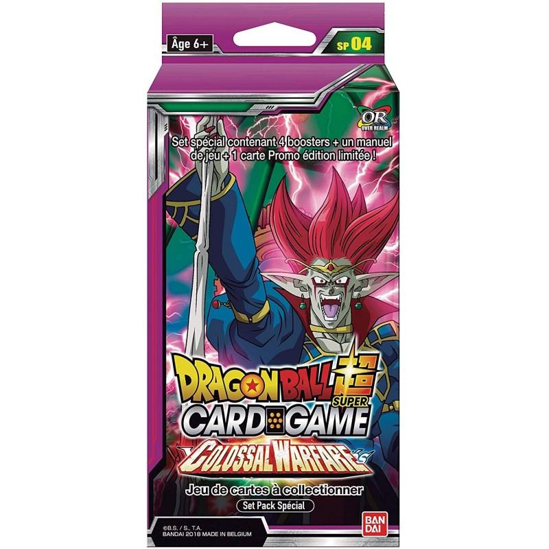 CARTES DRAGON BALL SUPER COLOSSAL WARFARE PACK SPECIAL - Cartes à collectionner ou jouer au prix de 10,00€