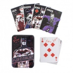JEU DE CARTES DC COMICS JUSTICE LEAGUE THE JOKER - Cartes à collectionner ou jouer au prix de 8,95 €