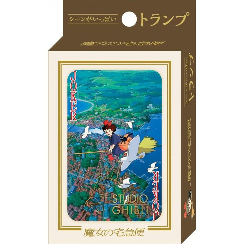 JEU DE CARTES GHIBLI KIKI LA PETITE SORCIERE - Cartes à collectionner ou jouer au prix de 14,95€