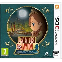 3DS AVENTURE LAYTON - Jeux 3DS au prix de 14,95€