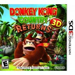 3DS DONKEY KONG COUNTRY RETURNS - Jeux 3DS au prix de 14,95 €