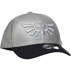 CASQUETTE ZELDA REFLECTIVE CROWN CURVED BILL CAP GREY - Casquettes au prix de 19,95 €