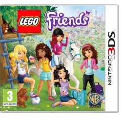 3DS LEGO FRIENDS - Jeux 3DS au prix de 9,95€